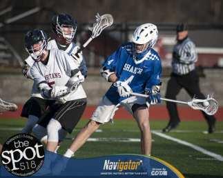 Shaker at Burnt Hills April 10, 2018 Boys Lacrosse.