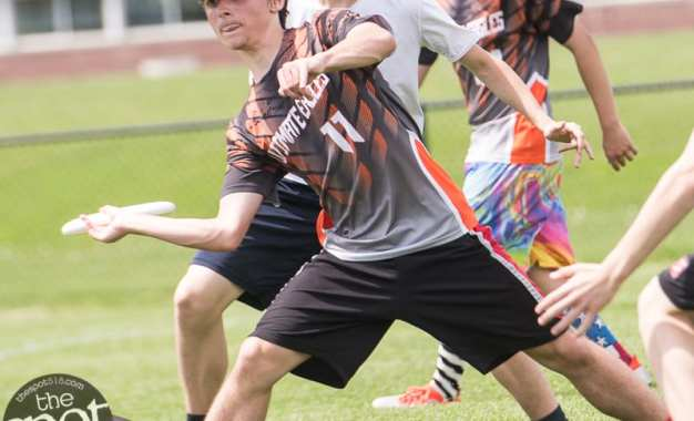 SPOTTED: Frisbees were flying at BC during the state High School Ultimate Championships