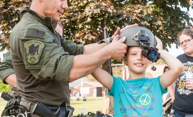SPOTTED: Colonie police host Community Night Out