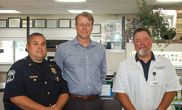 Secure drug disposal now available at Four Corners Pharmacy