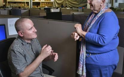 Document service provider bucks disability stereotypes