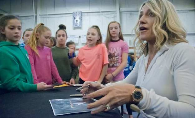SPOTTED: Nadia Comaneci and Jackie Joyner-Kersee in Latham