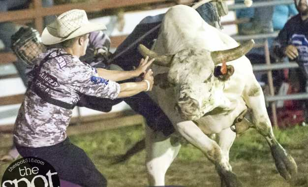 SPOTTED: Double M Professional Rodeo July 26 – Fast track, mean bulls and train wrecks