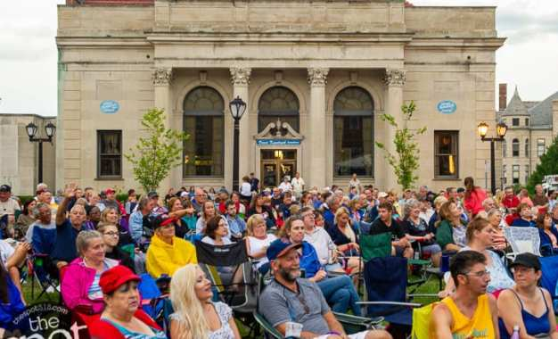 SPOTTED: Cohoes closes Rock the Block concerts with Rocket Man