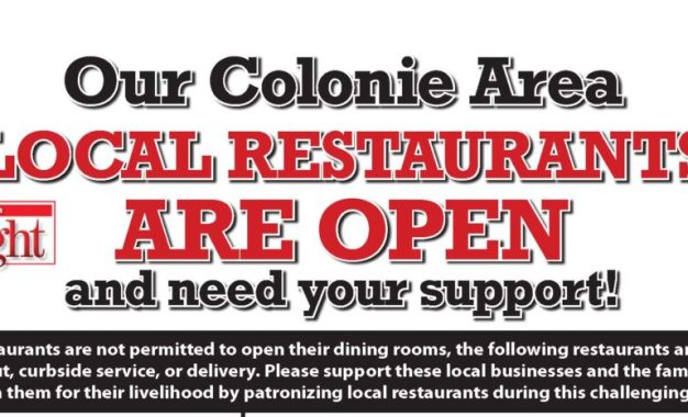 Colonie Spotlight area restaurant list: May 29-June 1, 2020