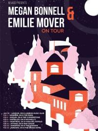 Megan Bonnell & Emilie Mover - tour poster