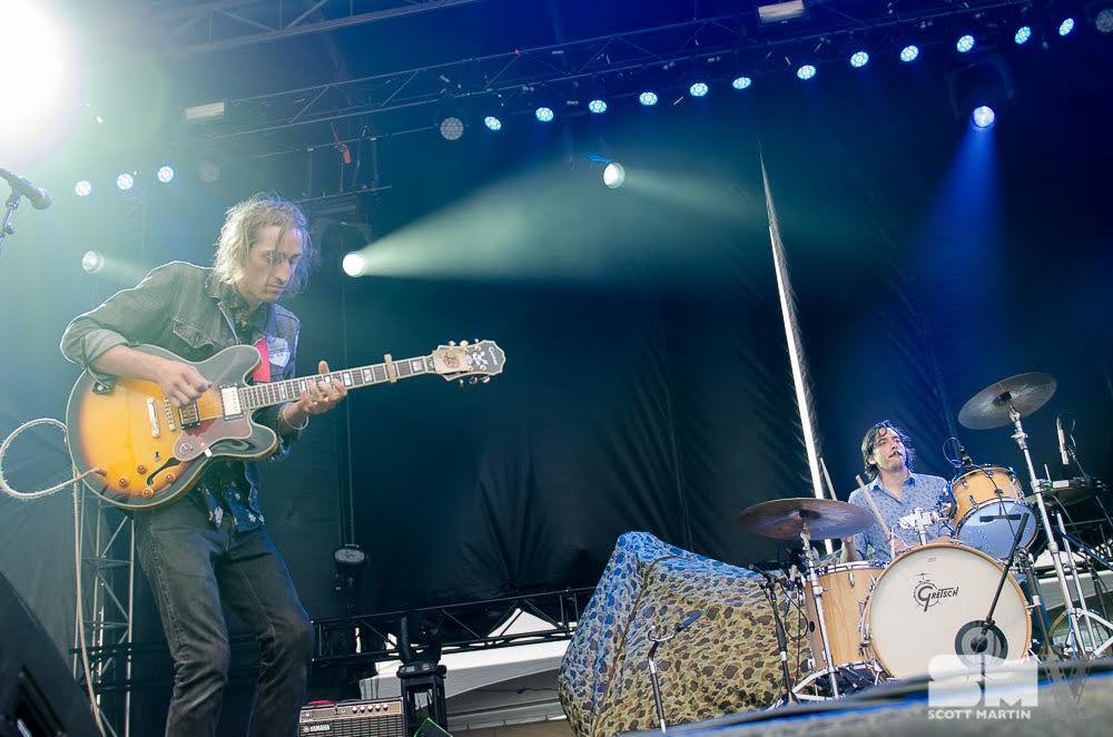 Rob Cooke, Chris Di Lauro - The Heavy Medicine Band - photo Scott Martin Visuals