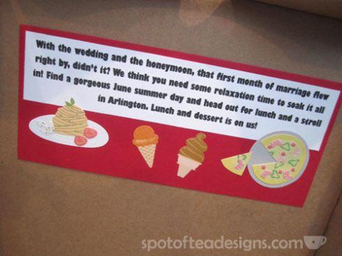 Present a pizza gift card in a mini pizza box   spotofteadesigns.com