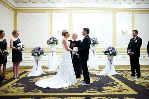 Adelphia NJ Wedding Ceremony | spotofteadesigns.com