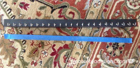 DIY Necklace Holder Step | spotofteadesigns.com
