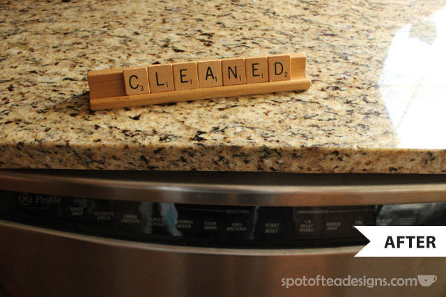 DIY Dishwasher Indicator   spotofteadesigns.com