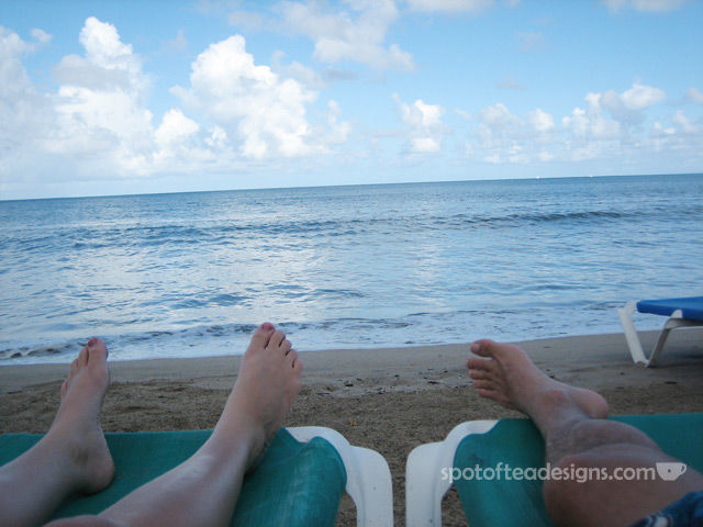 Photography Challenge: What's at your feet? | spotofteadesigns.com