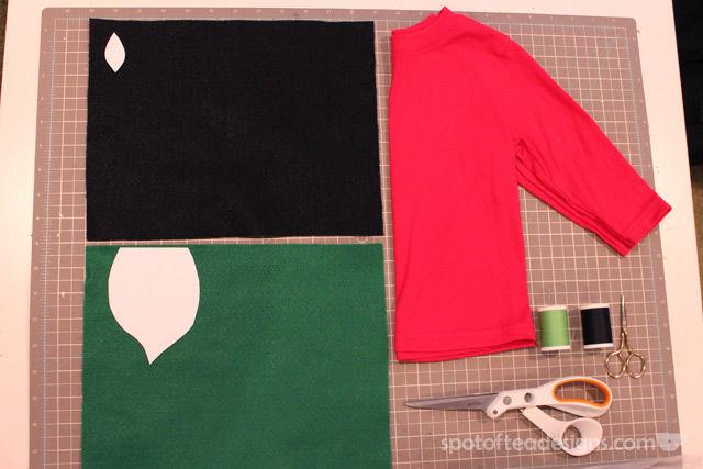 DIY Strawberry #Halloween Costume Supplies | spotofteadesigns.com