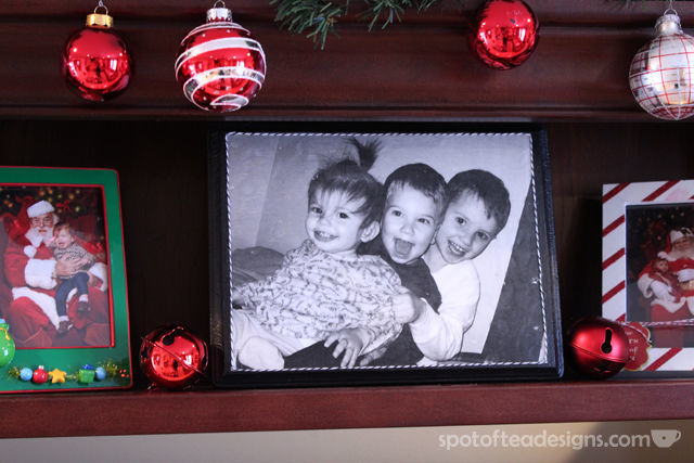 DIY Gift: Photo Transfer on Wood Tutorial with @DecoArt | spotofteadesigns.com
