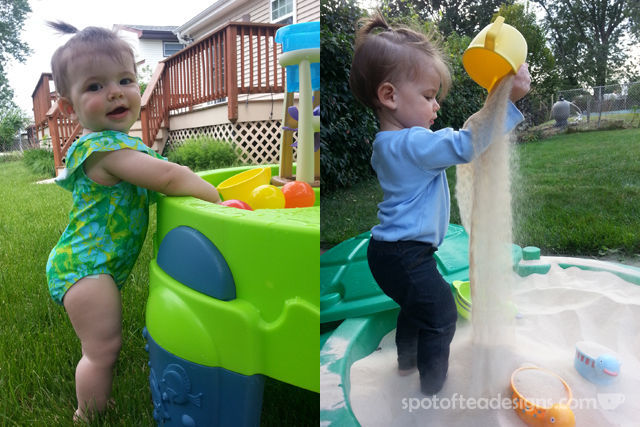 Top 10 Products for Toddlers 12-18 months: Sandbox and Water Table | spotofteadesigns.com