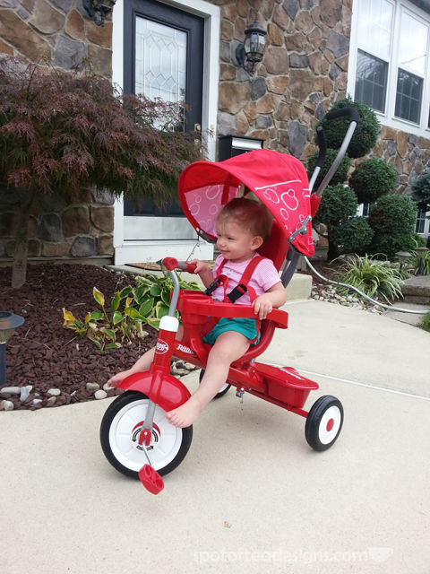 Top 10 Products for Toddlers 12-18 months: Radio Flyer 4-in-1 Trike | spotofteadesigns.com