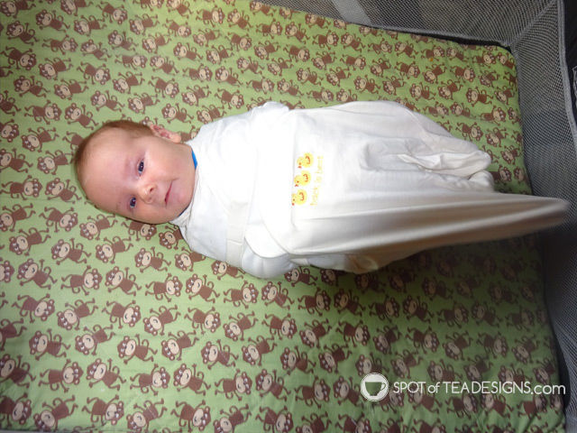 A safer night's sleep for baby: wearing blankets (@HALOsleepsack) | spotofteadesigns.com