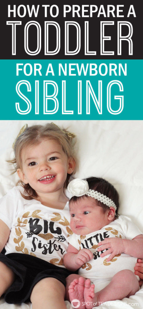 How to Prepare Your Toddler for a Sibling #parenting advice   spotofteadesigns.com