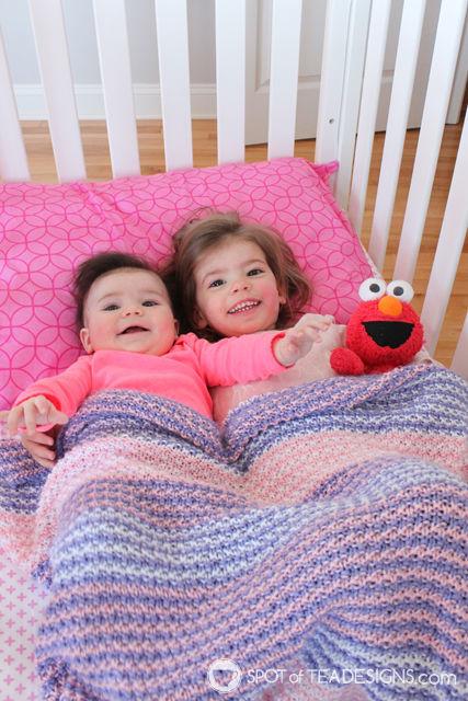 Handmade Gift - Handmade baby blanket made by Courtney   spotofteadesigns.com