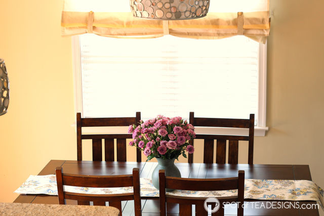 Secret to making a room beautiful - fresh flowers. Spray roses from @BloomsyBox. #BloomingHappy #ad   Spotofteadesigns.com