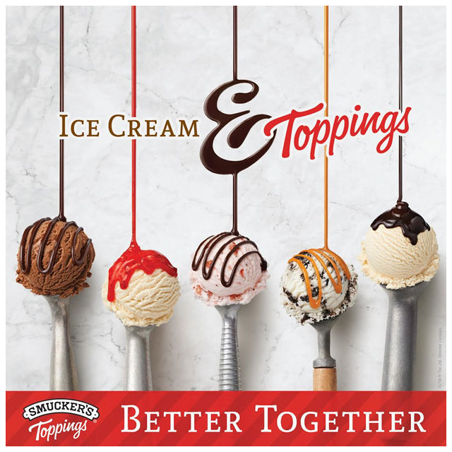 Smuckers Toppings and Ice Cream are Better together! #ad #cbias #TopYourSummer #SoHoppinGood |spotofteadesigns.com