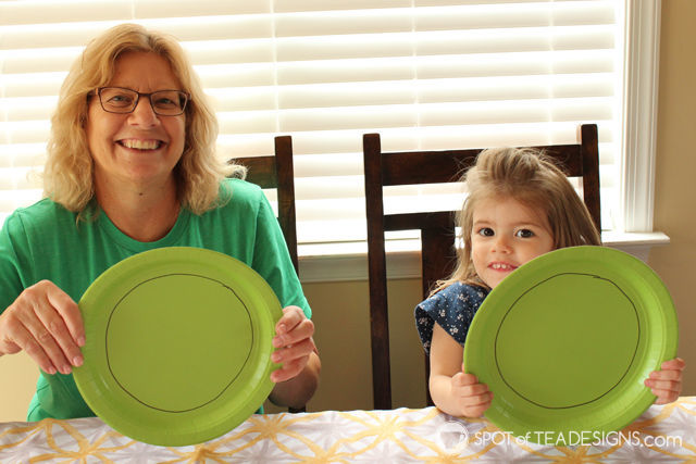 Watermelon contact paper #KidsCraft perfect for summer! | spotofteadesigns.com