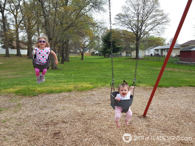 Stay at home mom tips and tricks. get outside at least once a day #parenting #sahm | spotofteadesigns.com