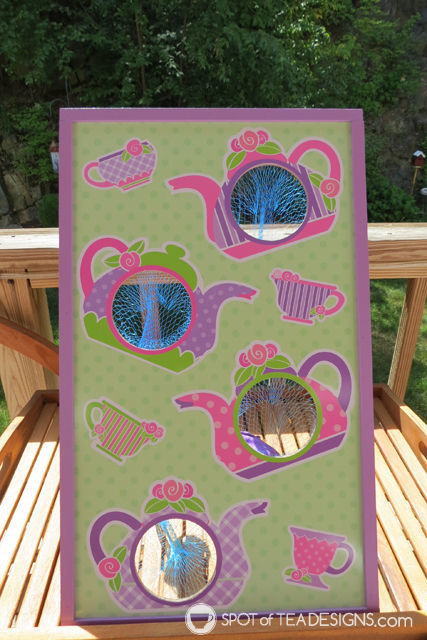 Tea for Two 2nd Birthday Party - bean bag toss | spotofteadesigns.com