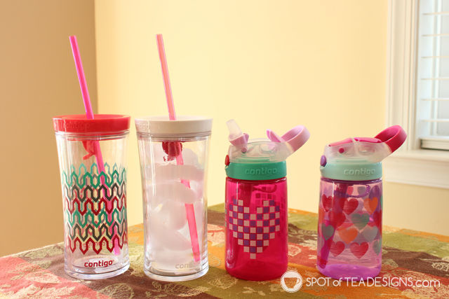 Holiday Gift Guide - Contingo tumblers for adults AND kids! | spotofteadesigns.com