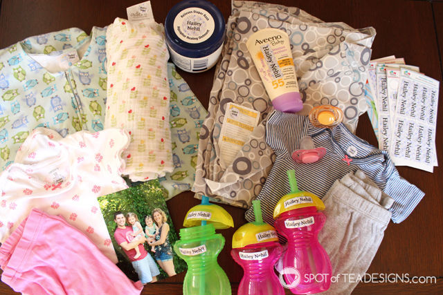 Transitioning your kid to daycare - tips and tricks. Labels all your supplies with @NameBubbles #parenting | spotofteadesigns.com