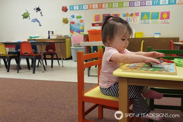 Transitioning your kid to daycare - tips and tricks. #parenting | spotofteadesigns.com