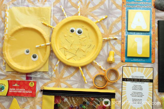 photograph regarding Box of Sunshine Printable referred to as Box of Solar Reward Basket Notion (moreover no cost printable