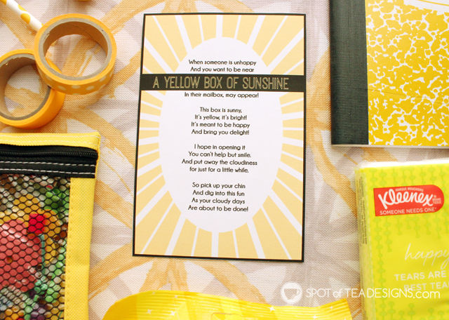 photograph relating to Box of Sunshine Printable referred to as Box of Sun Reward Basket Notion (moreover no cost printable