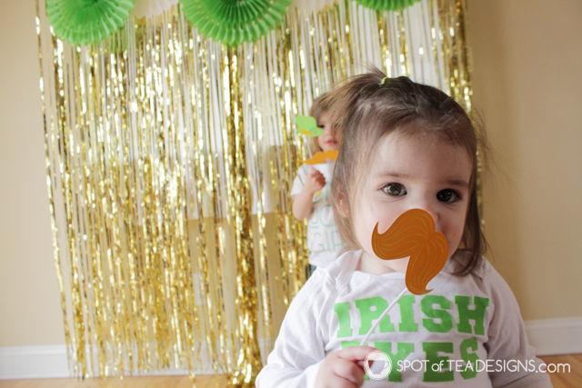 St Patricks Day Toddler Photoshoot | spotofteadesigns.com