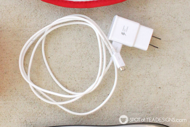 Favorite phone accessories - fast wall charger | spotofteadesigns.com