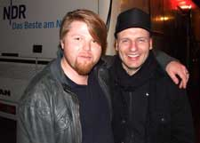 Andreas Weitkämper (left) and Joachim Braun.(Photo: Henrik Friis)