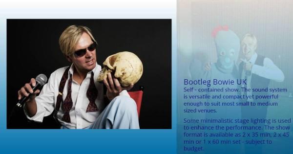 Bootleg Bowie UK