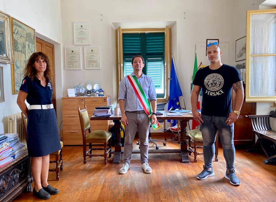 Caio Lima, l'eroe di Spotorno: finisce sui media internazionali e Fiorini propone un'onorificenza