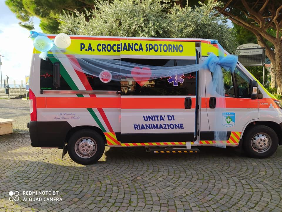 Croce Bianca Spotorno, a luglio inaugurazione di due mezzi e del gruppo cinofilo