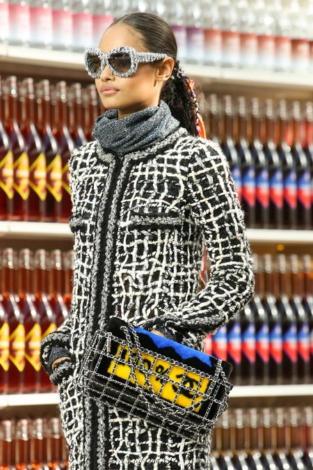 Chanel Fall Winter 2014 Runway Bag Collection Is Grocery
