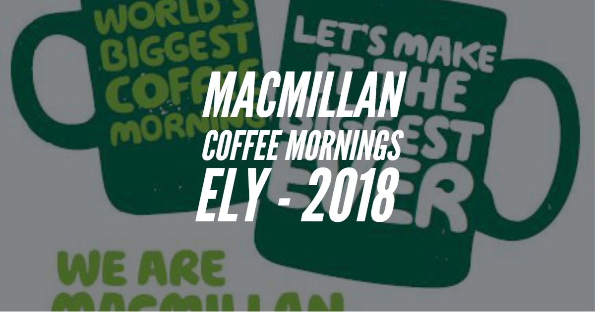 MacMillan Coffee Mornings
