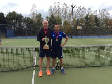 Men's doubles winners