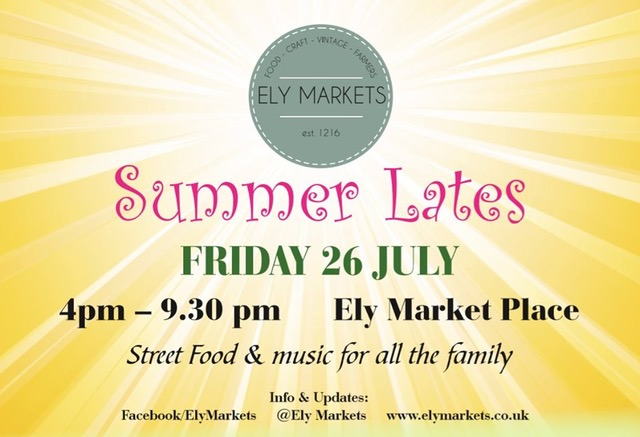 Ely Markets Summer Lates