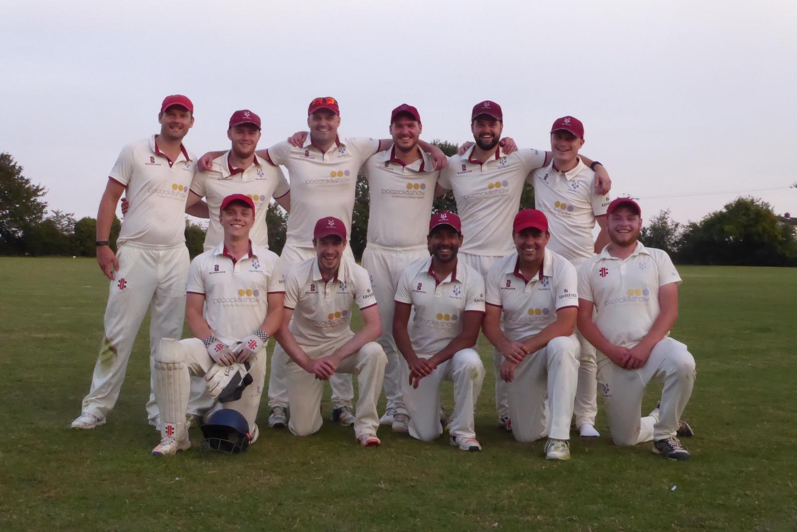 City of Ely Cricket Club win the League