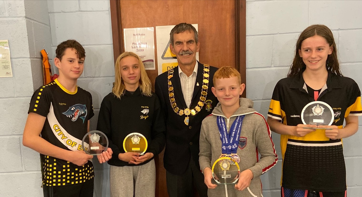 Autumn Medal Flurry for Ely Swimmers