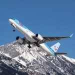 Thomson 757 blasting out of INN