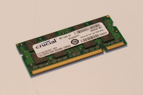 New RAM memory