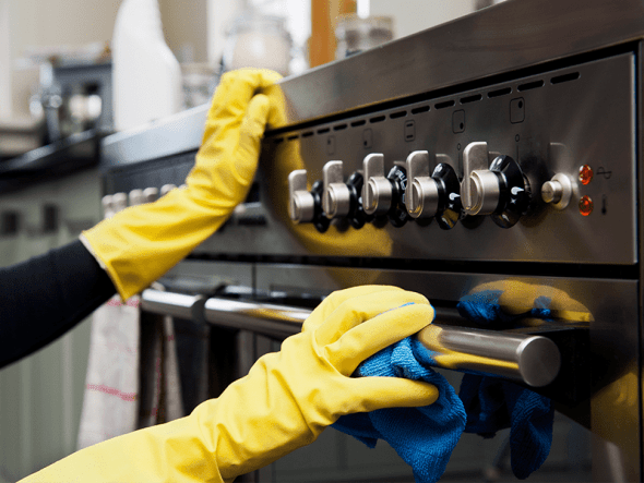 Cleaning hacks stainless steel
