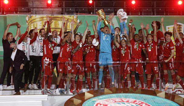 FC Bayern Munich won the DFB Pokal for the 20th time in the 2019/20 season.