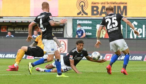 2 Liga Hsv Gelingt Befreiungsschlag In Dresden Bielefeld Nur Remis Gegen Sandhausen